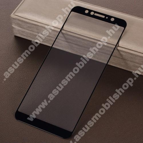 ASUS Zenfone Max Pro (M1) (ZB601KL)Előlap védő karcálló edzett üveg - 9H, 2.5D, Arc Edge - FEKETE - A TELJES KIJELZŐT VÉDI! - ASUS Zenfone Max Pro (M1) (ZB602KL) / ASUS Zenfone Max Pro (M1) (ZB601KL)