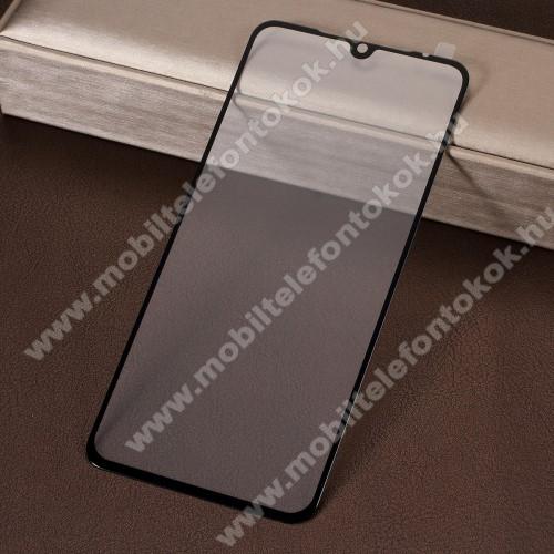 Előlap védő karcálló edzett üveg - 9H, 2.5D, Arc Edge - FEKETE - A TELJES KIJELZŐT VÉDI! - Xiaomi Mi 9 / Xiaomi Mi 9 Explorer