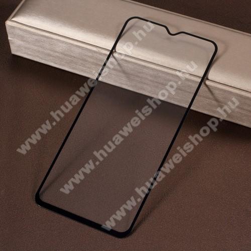 Előlap védő karcálló edzett üveg - 9H, 2.5D, Arc Edge - FEKETE - A TELJES KIJELZŐT VÉDI! - A TELJES FELÜLETÉN TAPAD - SAMSUNG SM-A307F Galaxy A30s / SAMSUNG SM-A305F Galaxy A30 / SAMSUNG SM-A505F Galaxy A50 / SAMSUNG Galaxy A50s