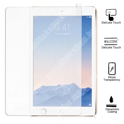 APPLE iPad Air 2 Előlap védő karcálló edzett üveg - 9H keménységű - APPLE iPad Air 2 / APPLE iPad 9.7 (2017) (5. GENERÁCIÓS)