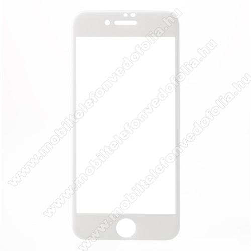 APPLE iPhone 7Előlap védő karcálló edzett üveg - FEHÉR - 9H, Anti-Blue-ray, 4D, A TELJES KIJELZÕT VÉDI! - APPLE iPhone SE (2020) / APPLE iPhone 7 / APPLE iPhone 8 / APPLE iPhone 6 / APPLE iPhone 6S