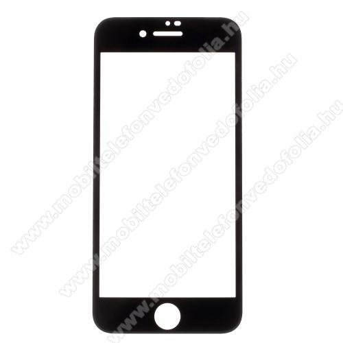APPLE iPhone 7Előlap védő karcálló edzett üveg - FEKETE - 9H, Anti-Blue-ray, 4D, A TELJES KIJELZÕT VÉDI! - APPLE iPhone SE (2020) / APPLE iPhone 7 / APPLE iPhone 8 / APPLE iPhone 6 / APPLE iPhone 6S