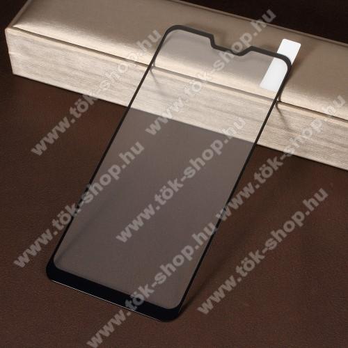 Előlap védő karcálló edzett üveg, TELJES KIJELZŐT VÉDI! - FEKETE - 9H, Arc Edge, A teljes felületén tapad! - ASUS Zenfone Max Pro (M2) (ZB631KL) / ASUS Zenfone Max Pro (M2) (ZB630KL)