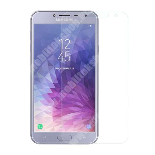 SAMSUNG Galaxy J4 (2018) (SM-J400F) Előlapvédő karcálló edzett üveg - 0,3mm, 9H, Arc Edge, A képernyő sík részét védi - SAMSUNG SM-J400F Galaxy J4 (2018)