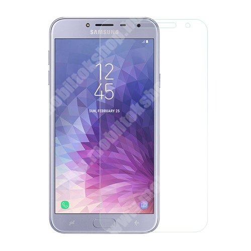 SAMSUNG SM-J400F Galaxy J4 (2018) Előlapvédő karcálló edzett üveg - 0,3mm, 9H, Arc Edge - SAMSUNG SM-J400F Galaxy J4 (2018)
