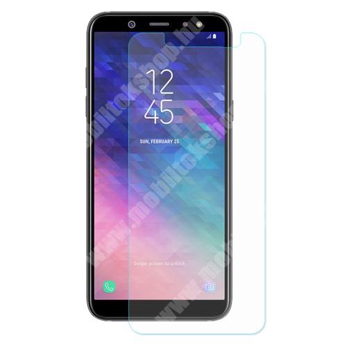 Előlapvédő karcálló edzett üveg - 0,3mm, 9H, Arc Edge - SAMSUNG SM-A600F Galaxy A6 (2018)