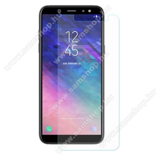 SAMSUNG SM-A605G Galaxy A6 Plus (2018)Előlapvédő karcálló edzett üveg - 0,3mm, 9H, Arc Edge - SAMSUNG SM-A605G Galaxy A6 Plus (2018)