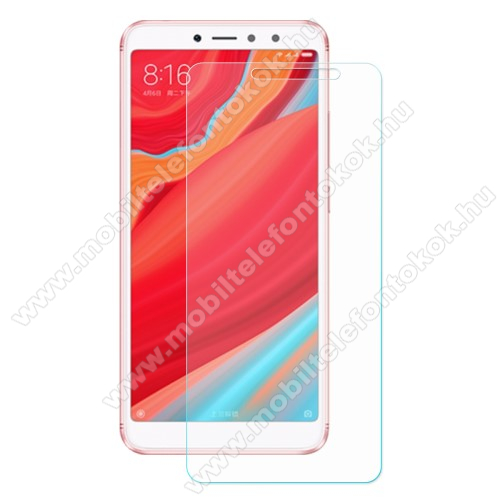 Előlapvédő karcálló edzett üveg - 0,3mm, 9H, Arc Edge - Xiaomi Redmi S2 / Xiaomi Redmi Y2