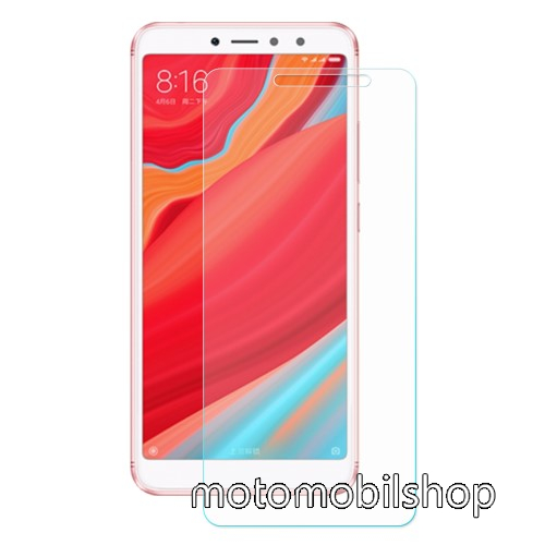 Előlapvédő karcálló edzett üveg - 0,3mm, 9H, Arc Edge, A képernyő sík részét védi - Xiaomi Redmi S2 / Xiaomi Redmi Y2