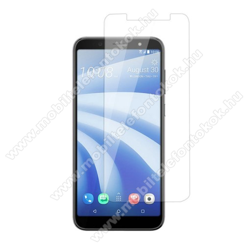 HTC U12 lifeElőlapvédő karcálló edzett üveg - 0,3mm, 9H, Arc Edge - HTC U12 life