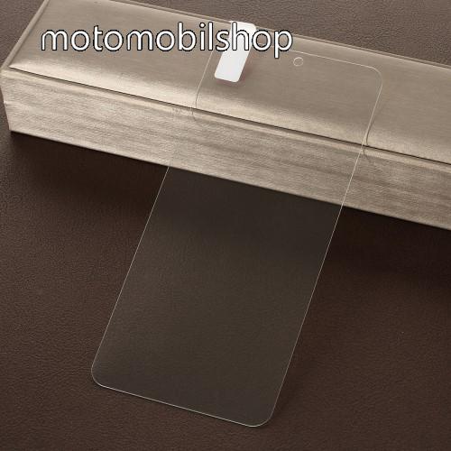 Előlapvédő karcálló edzett üveg - 0,3mm, 9H, Arc Edge - MOTOROLA Moto G7