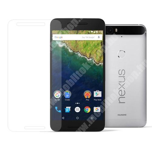Előlapvédő karcálló edzett üveg - 0,3mm, 9H, Arc Edge - HUAWEI Nexus 6P