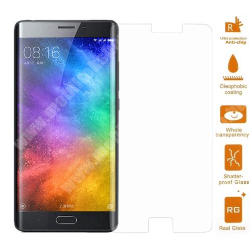 Xiaomi Mi Note 2 Előlapvédő karcálló edzett üveg - 0,3mm, 9H, Arc Edge - Xiaomi Mi Note 2