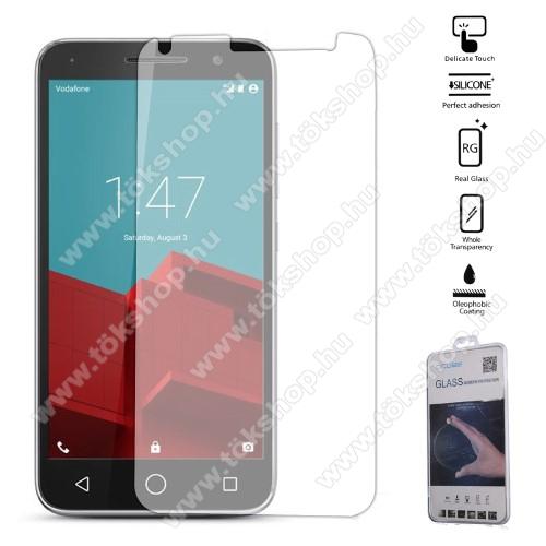 Előlapvédő karcálló edzett üveg - 0,3mm, 9H, Arc Edge - Vodafone Smart Turbo 7