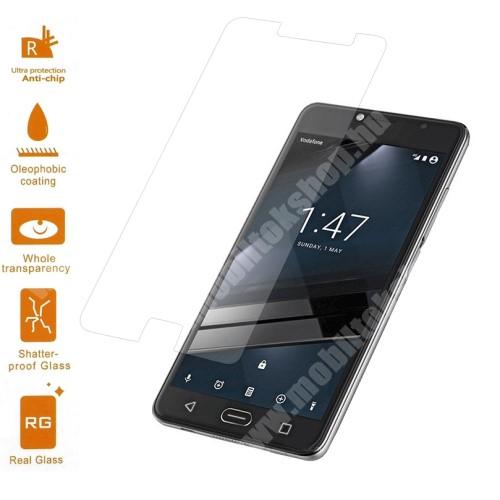 Előlapvédő karcálló edzett üveg - 0,3mm, 9H, Arc Edge - Vodafone Smart Ultra 7