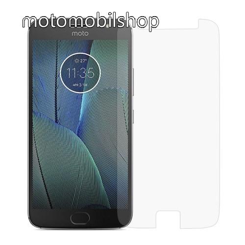 MOTOROLA Moto G5S Plus (XT1803 / XT1805) Előlapvédő karcálló edzett üveg - 0,3mm, 9H, Arc Edge - MOTOROLA Moto G5S Plus