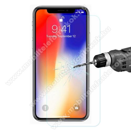 APPLE iPhone XrENKAY előlap védő karcálló edzett üveg - 2.5D, 0.26mm, 9H, arc edge - APPLE iPhone Xr
