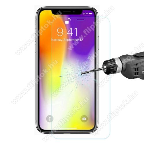 ENKAY előlap védő karcálló edzett üveg - 2.5D, 0.26mm, 9H, arc edge, A képernyő sík részét védi - APPLE iPhone 11 Pro Max / APPLE iPhone XS Max - GYÁRI