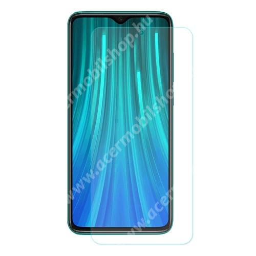 ENKAY előlap védő karcálló edzett üveg - 2.5D, 0.26mm, 9H, Arc Edge, A képernyő sík részét védi - Xiaomi Redmi Note 8 Pro - GYÁRI
