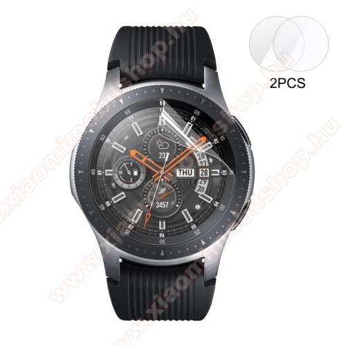 ENKAY képernyővédő fólia - CLEAR - 2DB - SAMSUNG Galaxy Watch 46mm / SAMSUNG Gear S3 Classic / SAMSUNG Gear S3 Frontier - GYÁRI
