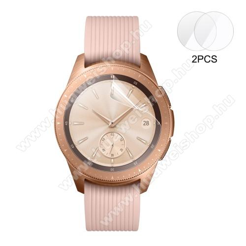ENKAY képernyővédő fólia - CLEAR - 2DB - SAMSUNG Galaxy Watch 42mm - GYÁRI