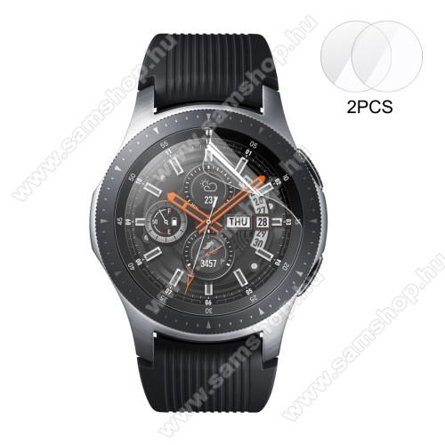 SAMSUNG SM-R760 Gear S3 FrontierENKAY okosóra képernyővédő fólia - CLEAR - 2DB - SAMSUNG Galaxy Watch 46mm / SAMSUNG Gear S3 Classic / SAMSUNG Gear S3 Frontier - GYÁRI