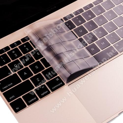 ENKAY ULTRAVÉKONY billentyűzet fólia / takaró - ÁTLÁTSZÓ - mosható, levehető és újra felrakható - MacBook 12 / MacBook Pro 13.3 (2016) - EU VERZIÓ!