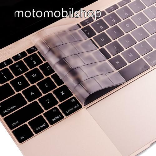 ENKAY ULTRAVÉKONY billentyűzet fólia / takaró - ÁTLÁTSZÓ - mosható, levehető és újra felrakható - MacBook 12 / MacBook Pro 13.3 (2016) - EU VERZIÓ! - GYÁRI