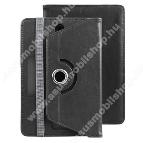 ASUS Memo Pad 7 ME572CENKAY UNIVERZÁLIS tablet PC notesz / mappa tok - FEKETE - oldalra nyíló, asztali tartó funkciós, , 360°-ban elforgatható, gumis záródás, 150-190mm és 82-120mm között állítható belső keret, 7