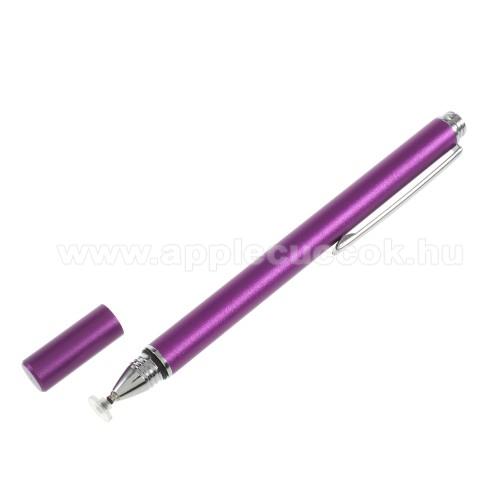 �rint?k�perny? ceruza - kapacit�v kijelz?h�z, K�Z�R�SRA, RAJZOL�SRA IS ALKALMAS - LILA