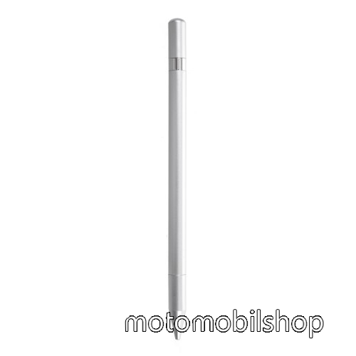 MOTOROLA XT701 Érintőképernyő ceruza / golyós toll - kapacitív kijelzőhöz, KÉZÍRÁSRA, RAJZOLÁSRA ALKALMAS - SZÜRKE