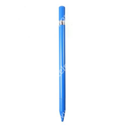 ALCATEL A3 Érintőképernyő ceruza / golyós toll - kapacitív kijelzőhöz, KÉZÍRÁSRA, RAJZOLÁSRA ALKALMAS - KÉK