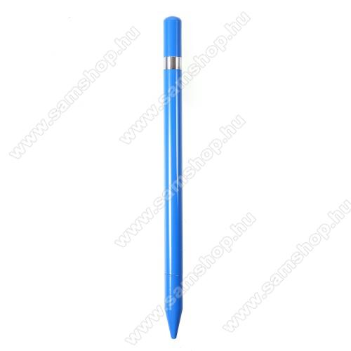 SAMSUNG Galaxy S10e (SM-G970F/SM-G970W)Érintőképernyő ceruza / golyós toll - kapacitív kijelzőhöz, KÉZÍRÁSRA, RAJZOLÁSRA ALKALMAS - KÉK