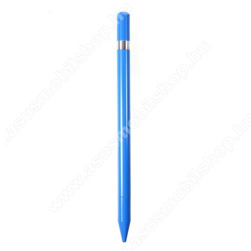 ASUS Zenfone 2 Laser (ZE601KL)Érintőképernyő ceruza / golyós toll - kapacitív kijelzőhöz, KÉZÍRÁSRA, RAJZOLÁSRA ALKALMAS - KÉK