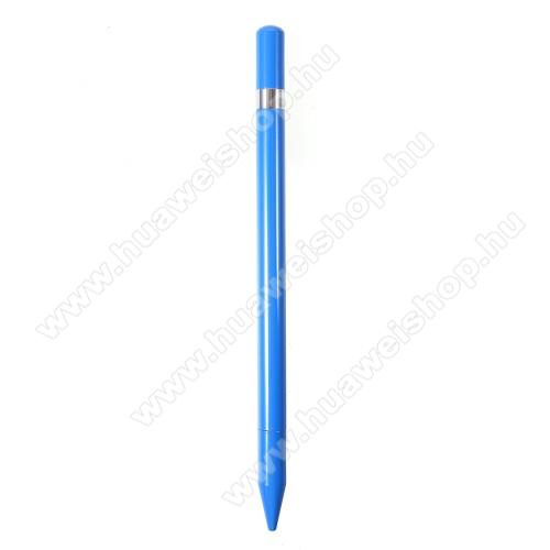 HUAWEI MediaPad 10 LinkÉrintőképernyő ceruza / golyós toll - kapacitív kijelzőhöz, KÉZÍRÁSRA, RAJZOLÁSRA ALKALMAS - KÉK