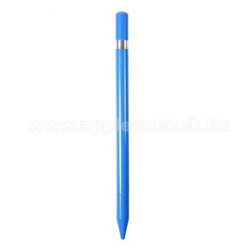 APPLE iPad Air 2Érintőképernyő ceruza / golyós toll - kapacitív kijelzőhöz, KÉZÍRÁSRA, RAJZOLÁSRA ALKALMAS - KÉK