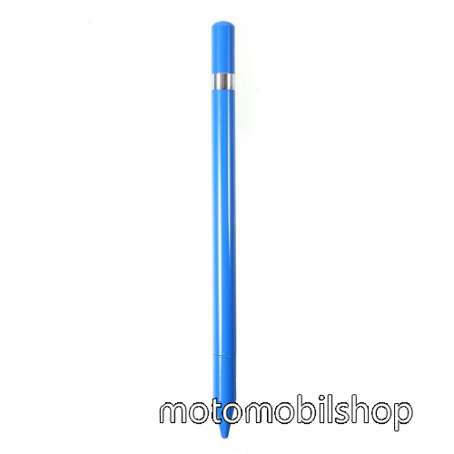 MOTOROLA Fire (XT311) Érintőképernyő ceruza / golyós toll - kapacitív kijelzőhöz, KÉZÍRÁSRA, RAJZOLÁSRA ALKALMAS - KÉK
