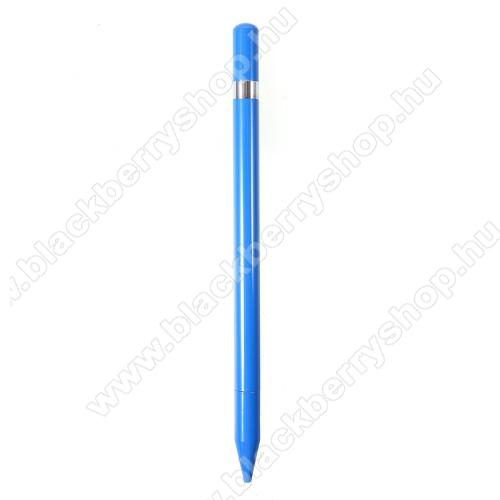 BLACKBERRY DTEK50Érintőképernyő ceruza / golyós toll - kapacitív kijelzőhöz, KÉZÍRÁSRA, RAJZOLÁSRA ALKALMAS - KÉK