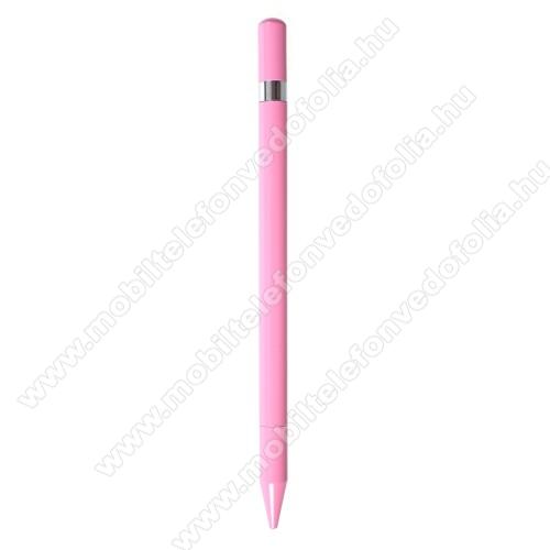 ZTE S30 SEÉrintőképernyő ceruza / golyós toll - kapacitív kijelzőhöz, KÉZÍRÁSRA, RAJZOLÁSRA ALKALMAS - RÓZSASZÍN