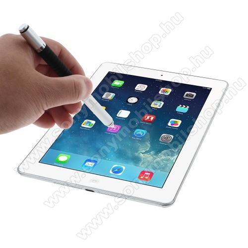 SONY Xperia Z4 Tablet LTEÉrintőképernyő ceruza / golyós toll - kapacitív kijelzőhöz, KÉZÍRÁSRA, RAJZOLÁSRA ALKALMAS - EZÜST