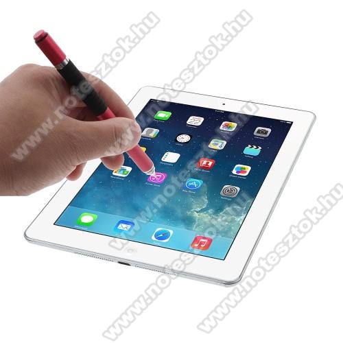 HUAWEI MediaPad T5 10Érintőképernyő ceruza / golyós toll - kapacitív kijelzőhöz, KÉZÍRÁSRA, RAJZOLÁSRA ALKALMAS - PIROS