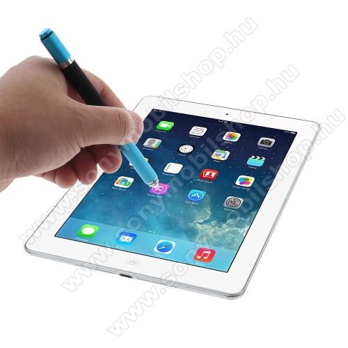 SONY Xperia Z5 Premium DualÉrintőképernyő ceruza / golyós toll - kapacitív kijelzőhöz, KÉZÍRÁSRA, RAJZOLÁSRA ALKALMAS - VILÁGOSKÉK