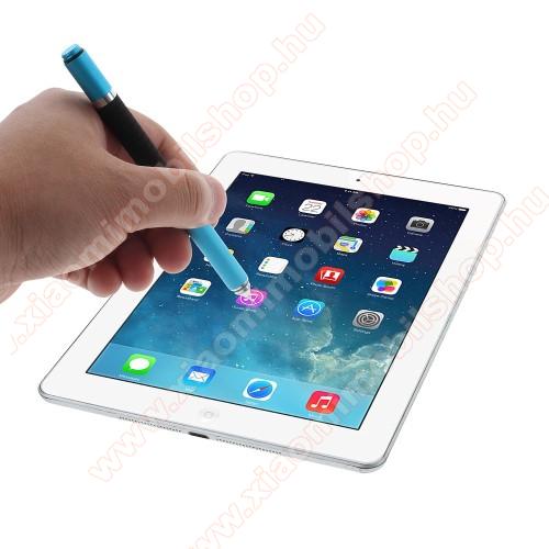 Xiaomi Redmi Y1 LiteÉrintőképernyő ceruza / golyós toll - kapacitív kijelzőhöz, KÉZÍRÁSRA, RAJZOLÁSRA ALKALMAS - VILÁGOSKÉK