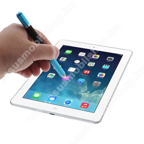 ASUS Fonepad 7 (ME372CL / ME175CG)Érintőképernyő ceruza / golyós toll - kapacitív kijelzőhöz, KÉZÍRÁSRA, RAJZOLÁSRA ALKALMAS - VILÁGOSKÉK