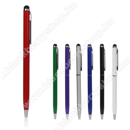 Érintőképernyő ceruza / golyós toll - SILVER / EZÜST