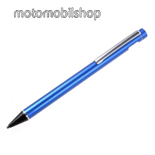 Érintőképernyő ceruza - kapacitív kijelzőkhöz, aktív érzékelő technológia, beépített újratölthető akkumulátorral, kézírásra, rajzolásra is alkalmas - KÉK