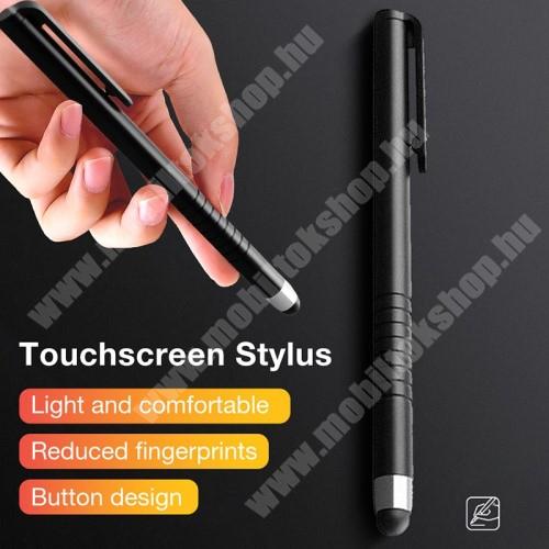 HTC Desire 12s Érintőképernyő ceruza - kapacitív kijelzőhöz, 115 x 11mm - FEKETE