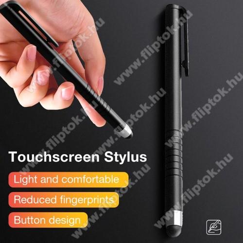 Huawei Enjoy 10Érintőképernyő ceruza - kapacitív kijelzőhöz, 115 x 11mm - FEKETE