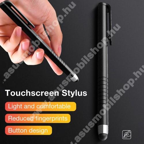ASUS Zenfone Go (ZB552KL)Érintőképernyő ceruza - kapacitív kijelzőhöz, 115 x 11mm - FEKETE