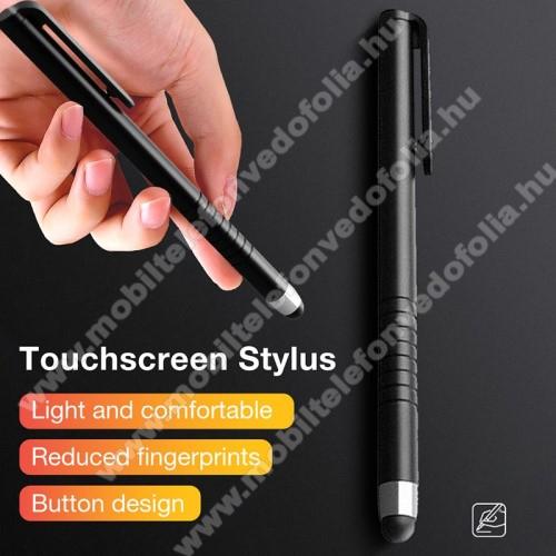 ZTE S30 SEÉrintőképernyő ceruza - kapacitív kijelzőhöz, 115 x 11mm - FEKETE